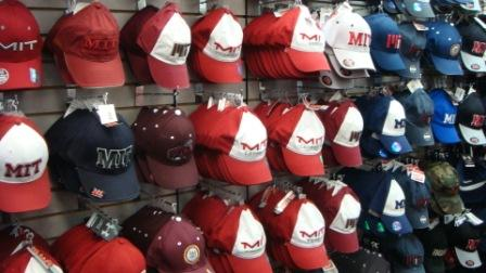 A bunch of hats at The Coop