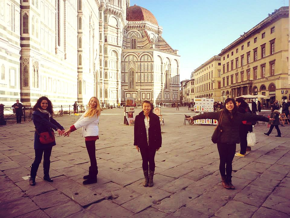 A few GTLers met up in Florence for the last weekend! Some of us by coincidence!