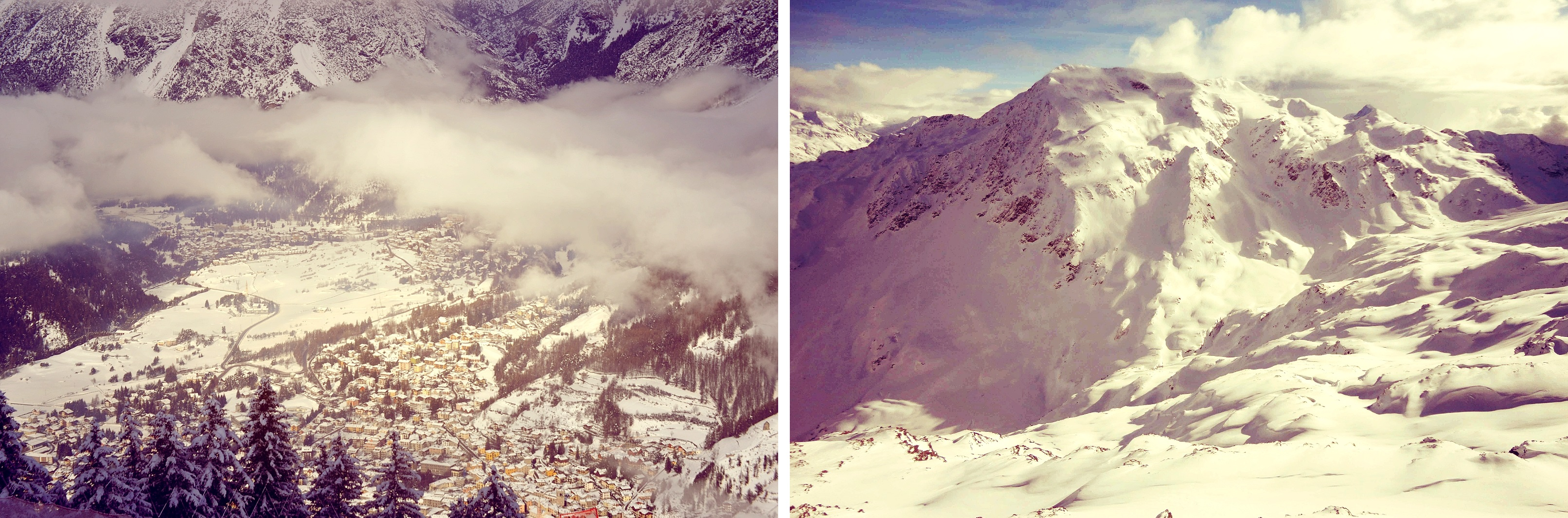 Weekend trip to Bormio... also my first time to mountains, whoathey'rebig