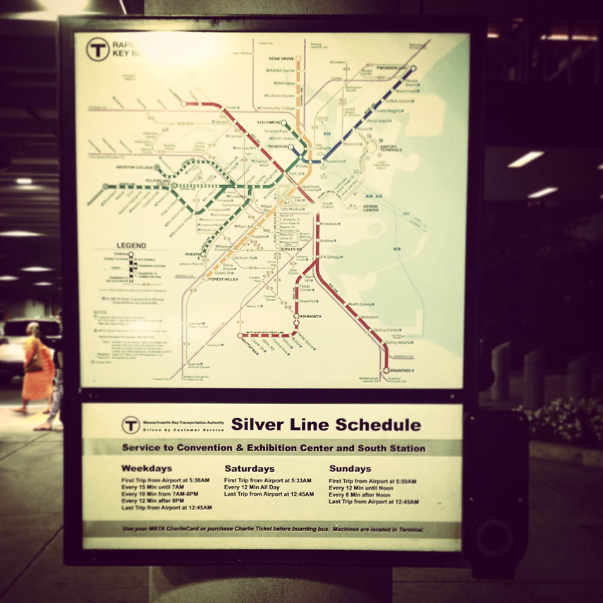 Alewife Subway Map.How To Get Home From The Airport For Free Mit Admissions