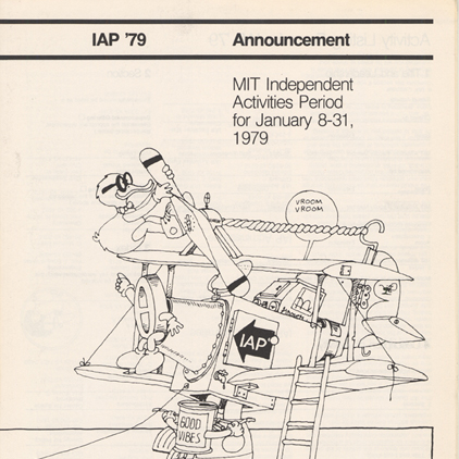 1979 IAP Pamphlet courtesy of the MIT Museum