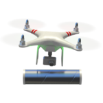 Illustration of Decision Drone