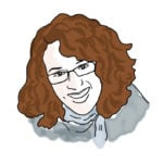 Illustration of Becca H. '12