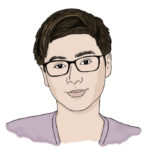 Illustration of Joonho K. '20