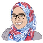 Illustration of Afeefah K. '21