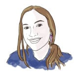 Illustration of Lydia K. '14, MEng '16