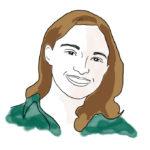 Illustration of Maggie L. '12