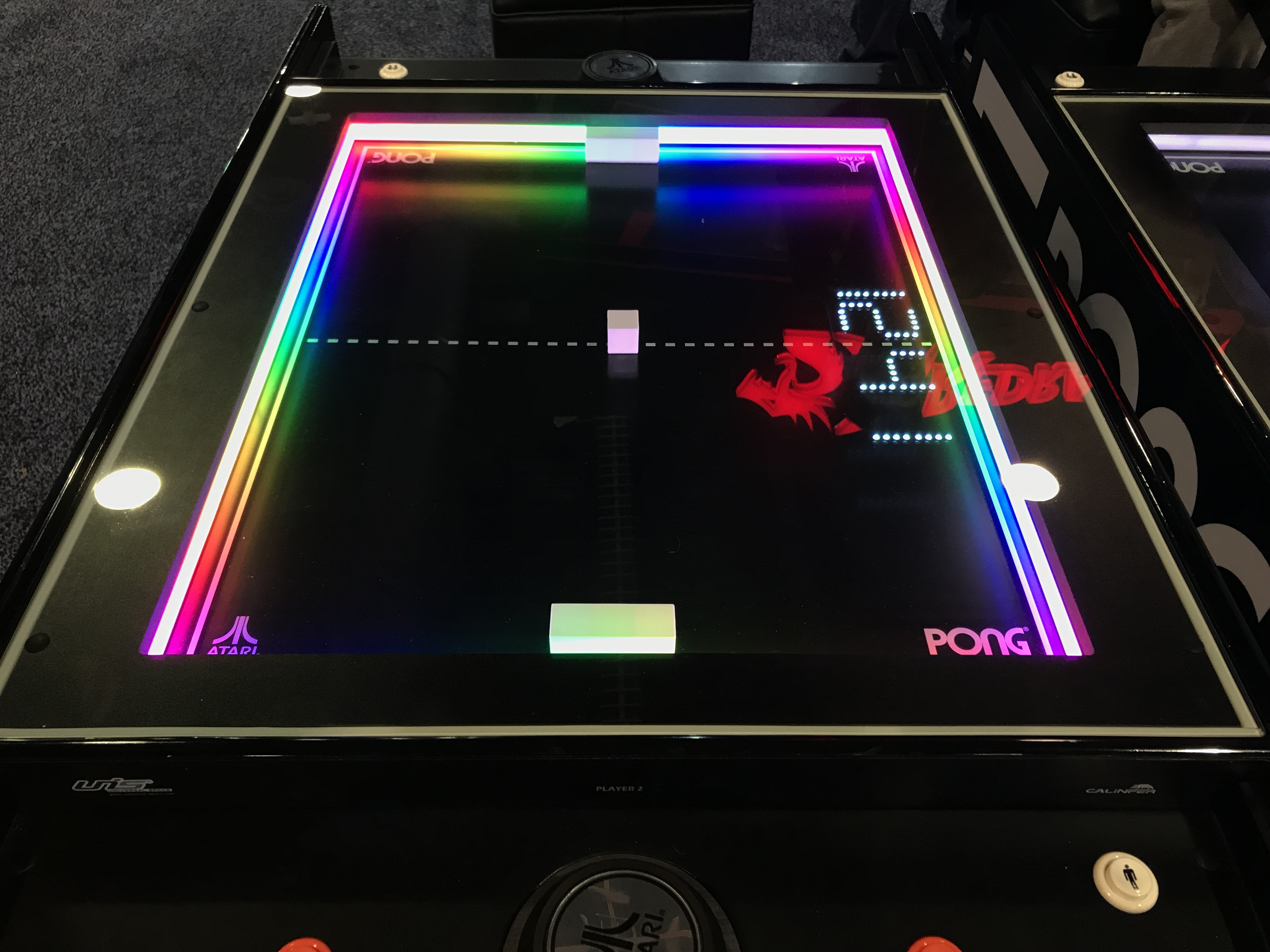 a pong table game