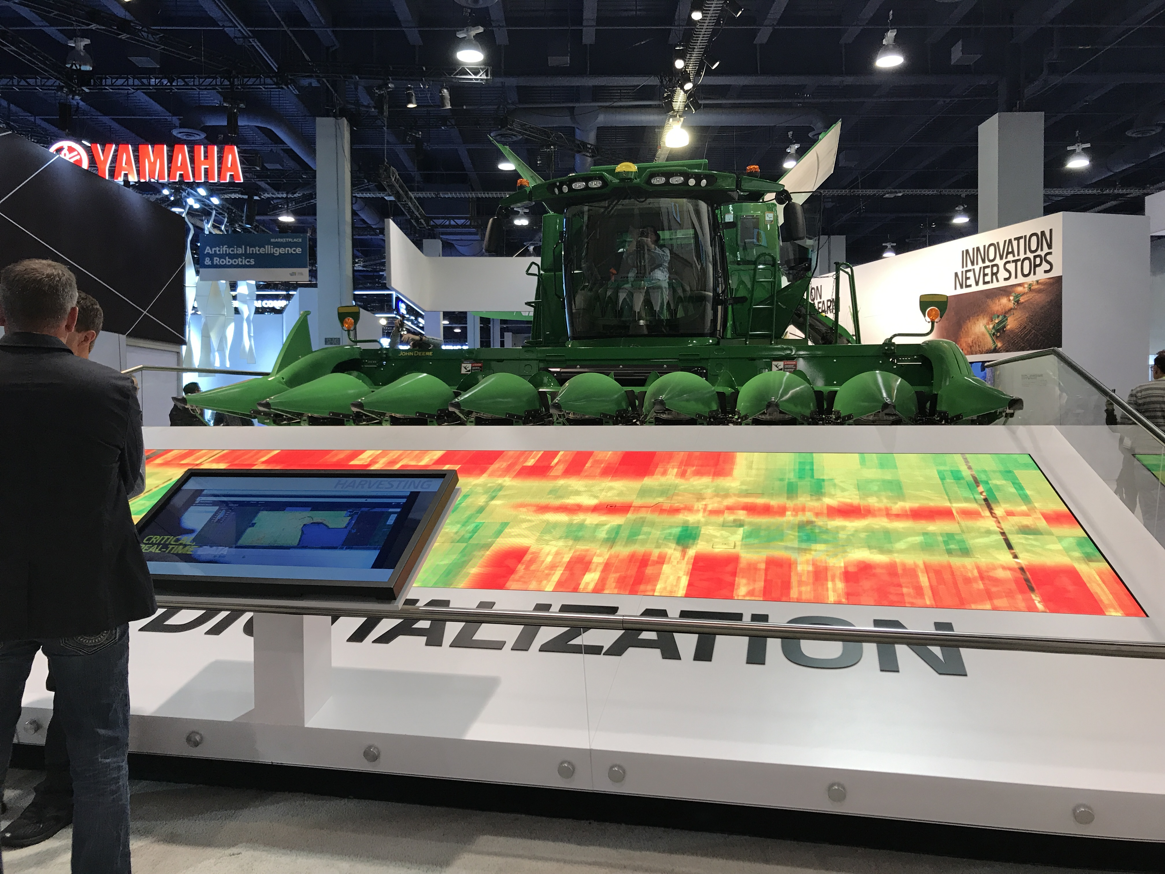 john deere display