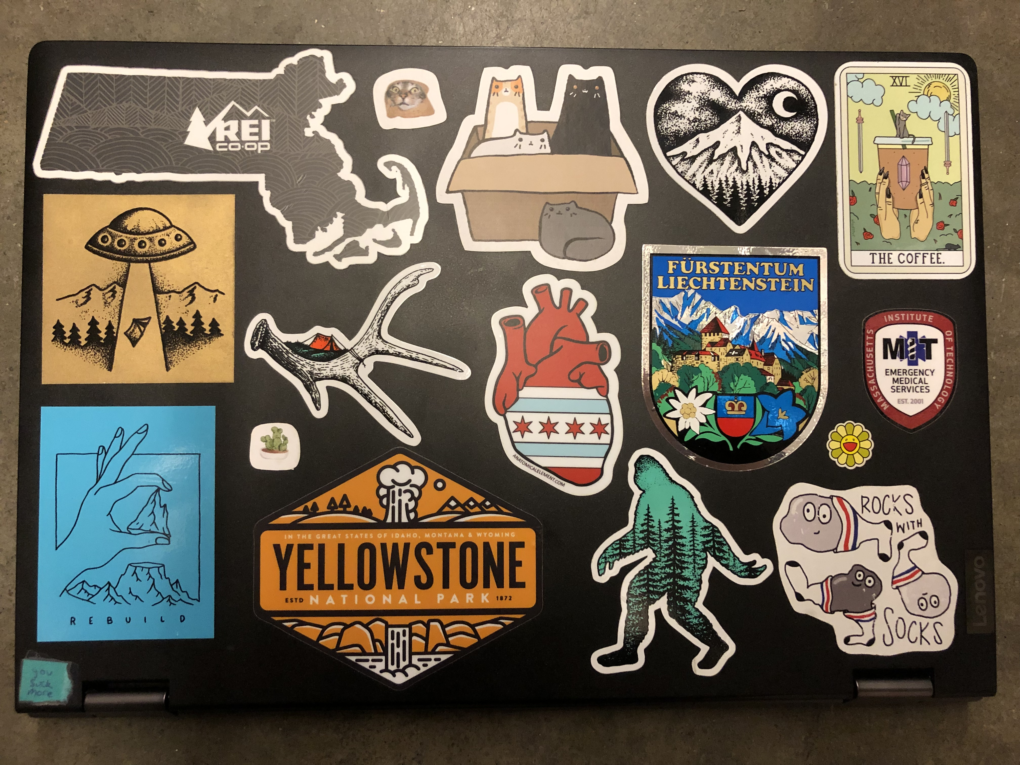 Laptop Stickers of MIT | MIT Admissions