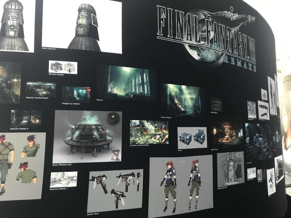 final fantasy 7 concept art!
