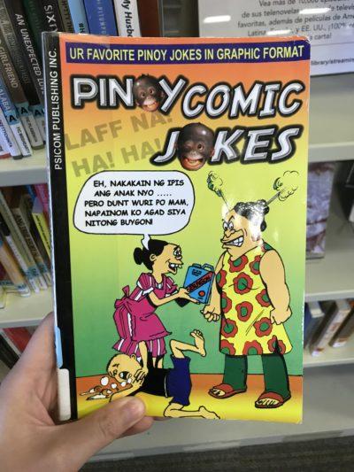 a book of comics called pinoy comic jokes