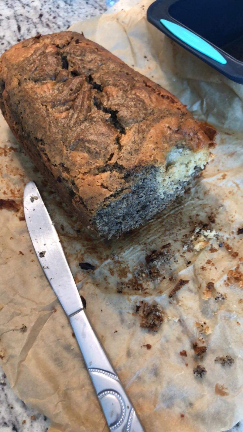 photo of sesame bread!