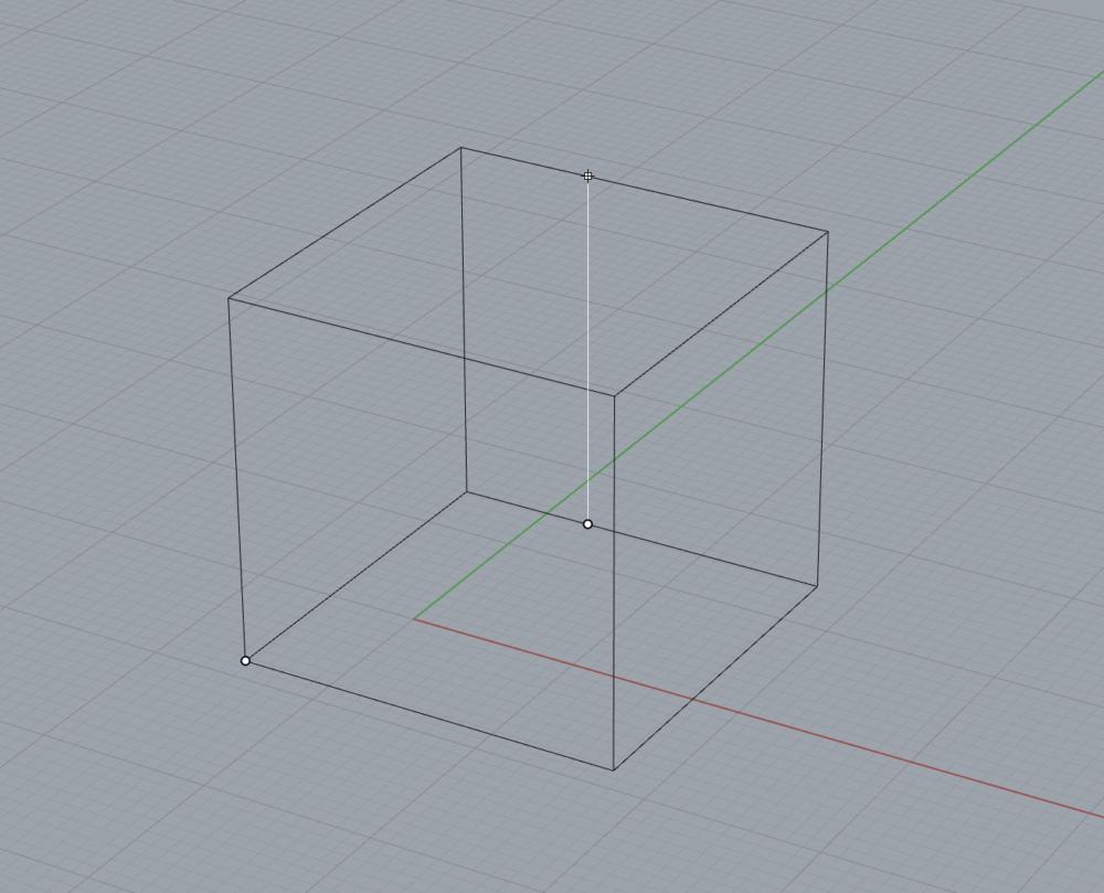 a 3D model of a cube