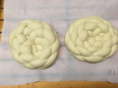 unbaked challah