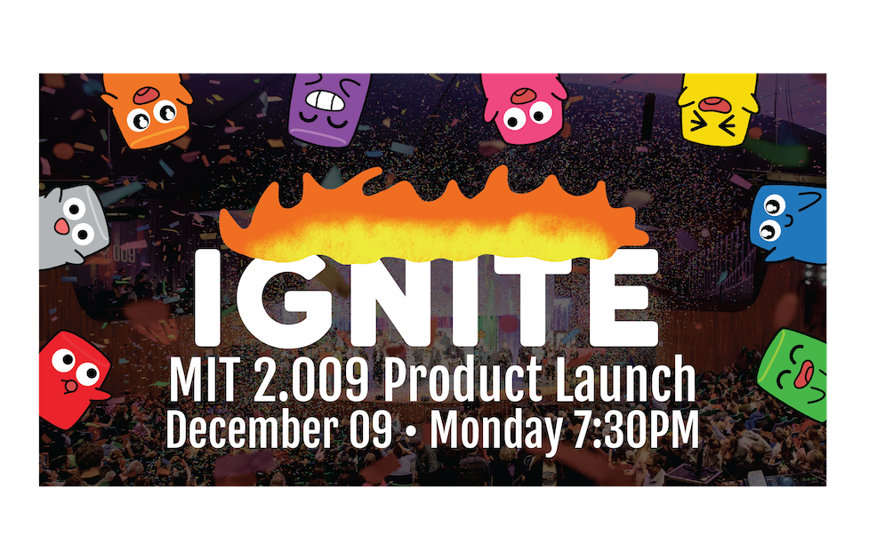 banner for this year's product launch