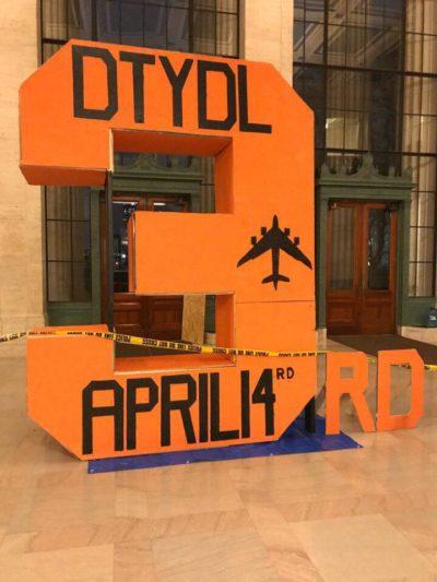 massive orange 3rd in Lobby 7