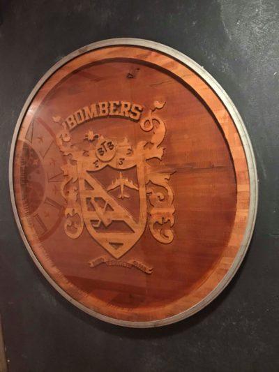 btb wooden crest