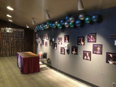 Mocha Show decorations