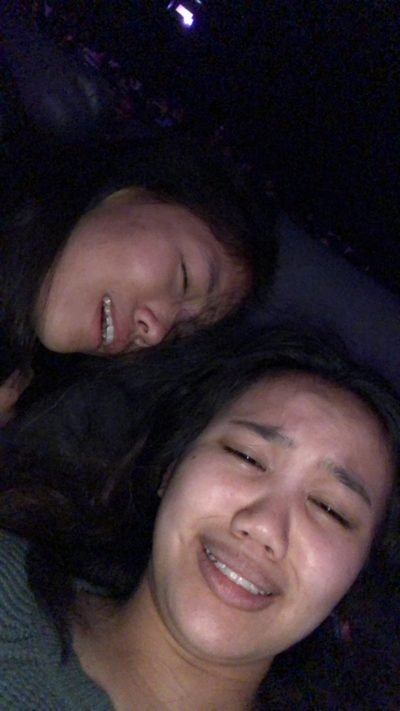 emma and i shook after the movie