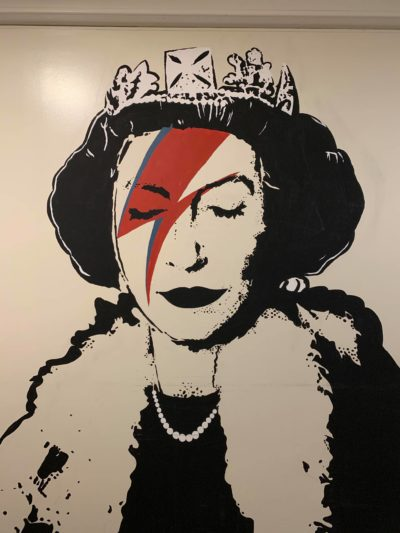 queen mural