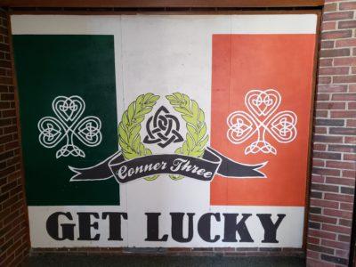 get lucky mural