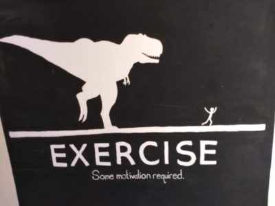 exercise mural