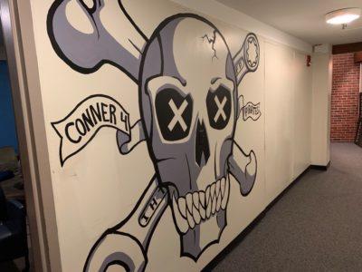 c4 pirates mural