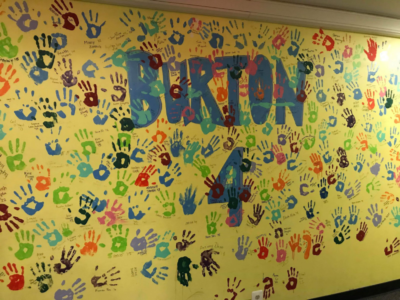 Burton 4 Handprint Wall