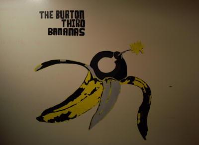 the burton third bananas mural
