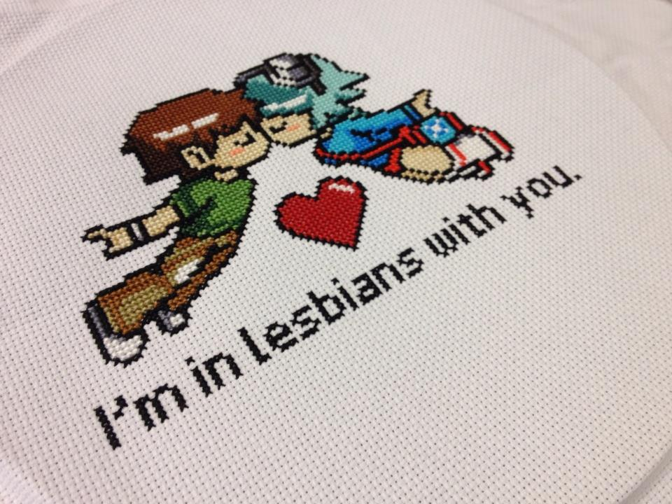Commission Cross Stitch Piece