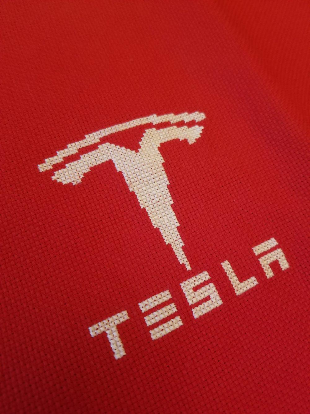 Tesla Cross Stitch