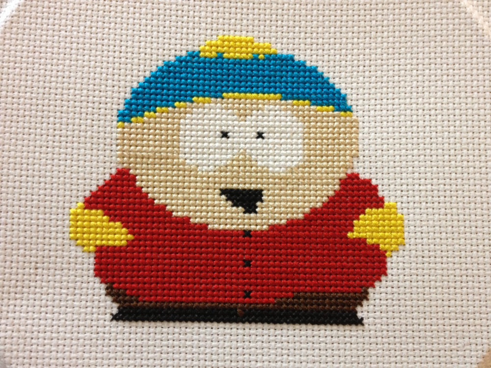 Cartman Cross Stitch