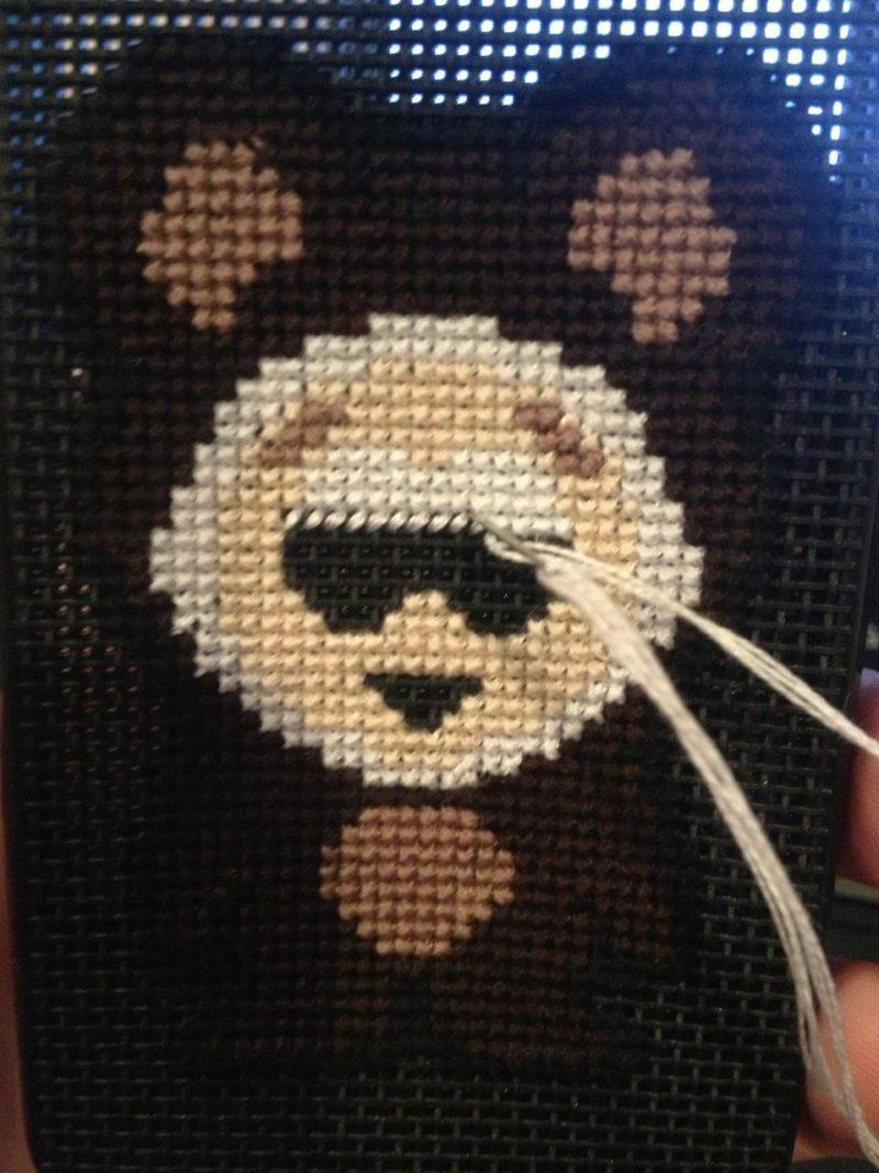iPhone Case Cross Stitch