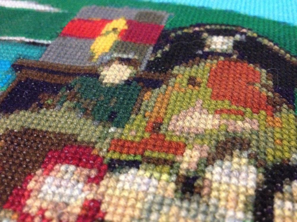 Guinea Pirate Cross Stitch