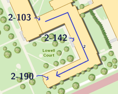some building numbers in building 2