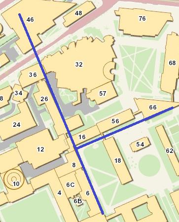 buildings 6, 16, 26, 36, 46, 56, 66