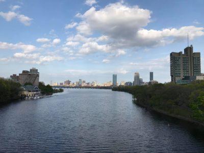 boston from the bridge