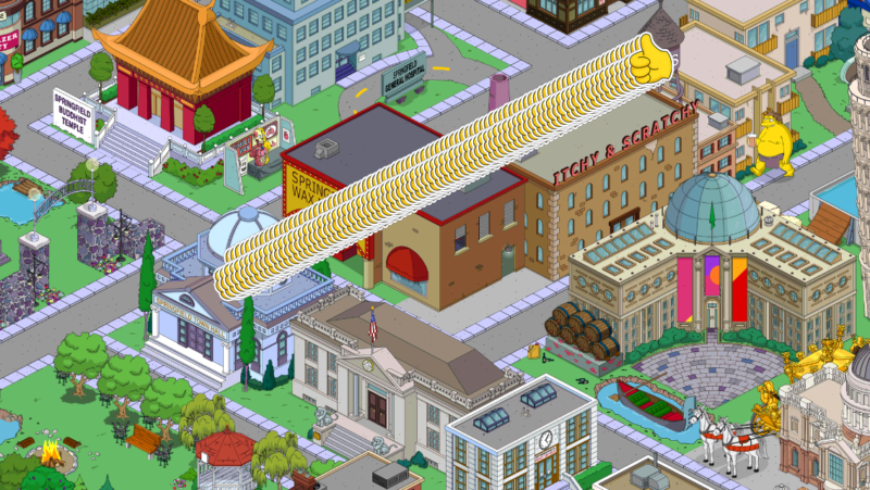 a screenshot of simpsons tapped out