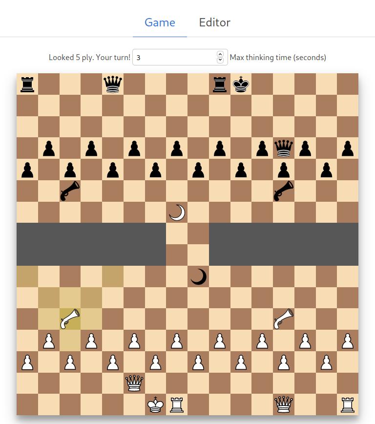protochess custom board screenshot