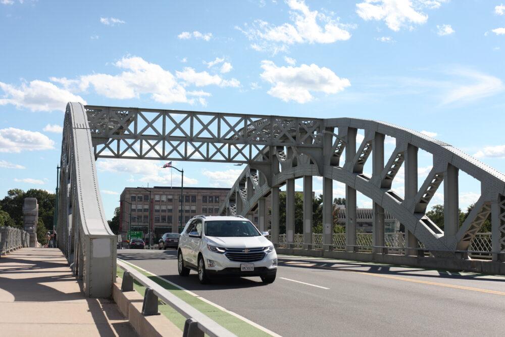 a photo of the Boston University Bridge