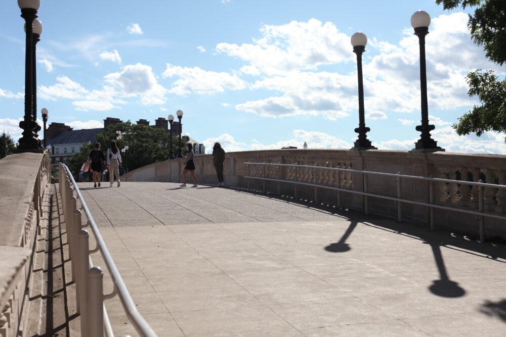 a photo of the John W. Weeks Bridge