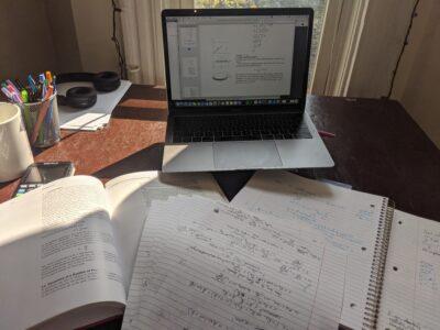physics notes, decorative