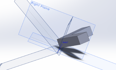 base with planes in CAD