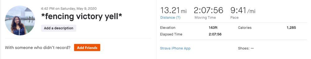 nisha's first half marathon