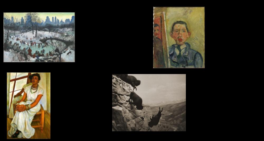 examples of art with ai art critic responses/descriptions