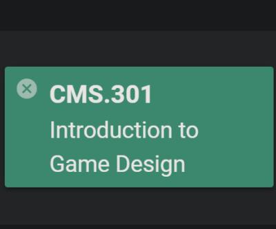 intro to game design