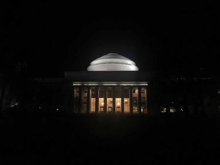 great dome at night