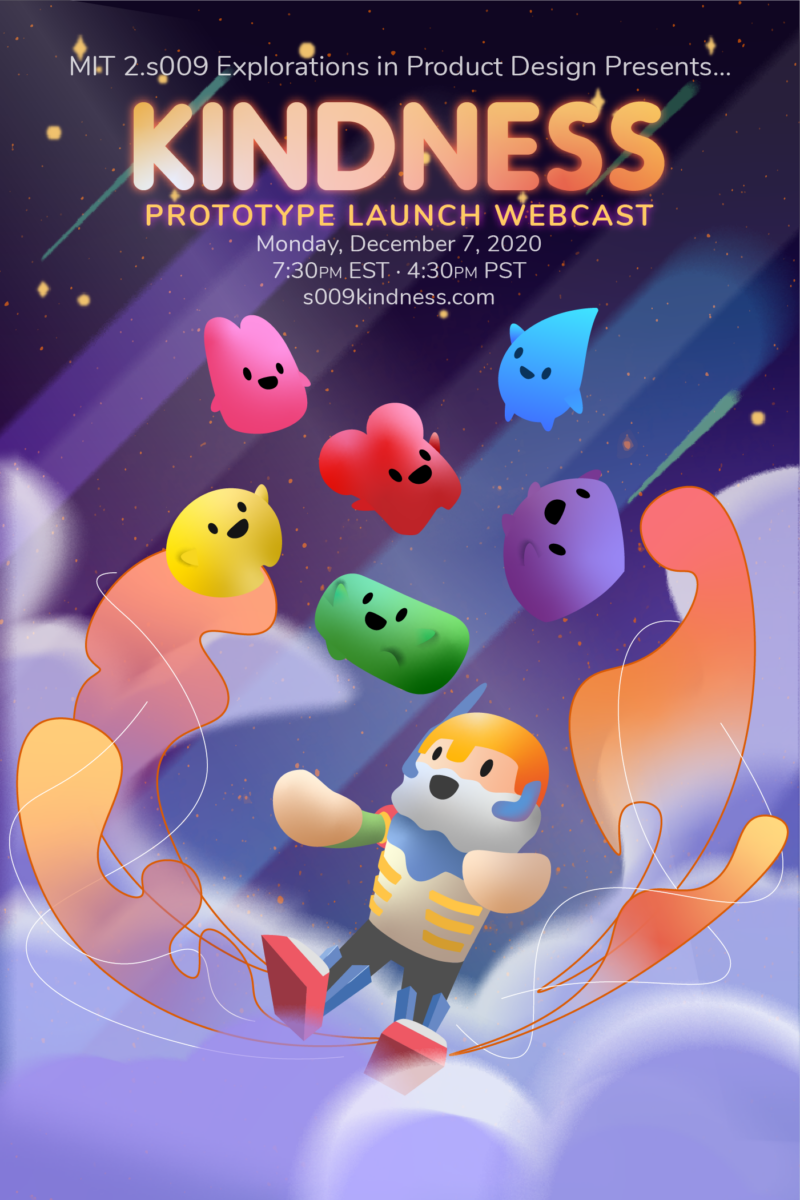 promotional poster for 2.s009's live webcast, with the date and time and link written above some illustrations