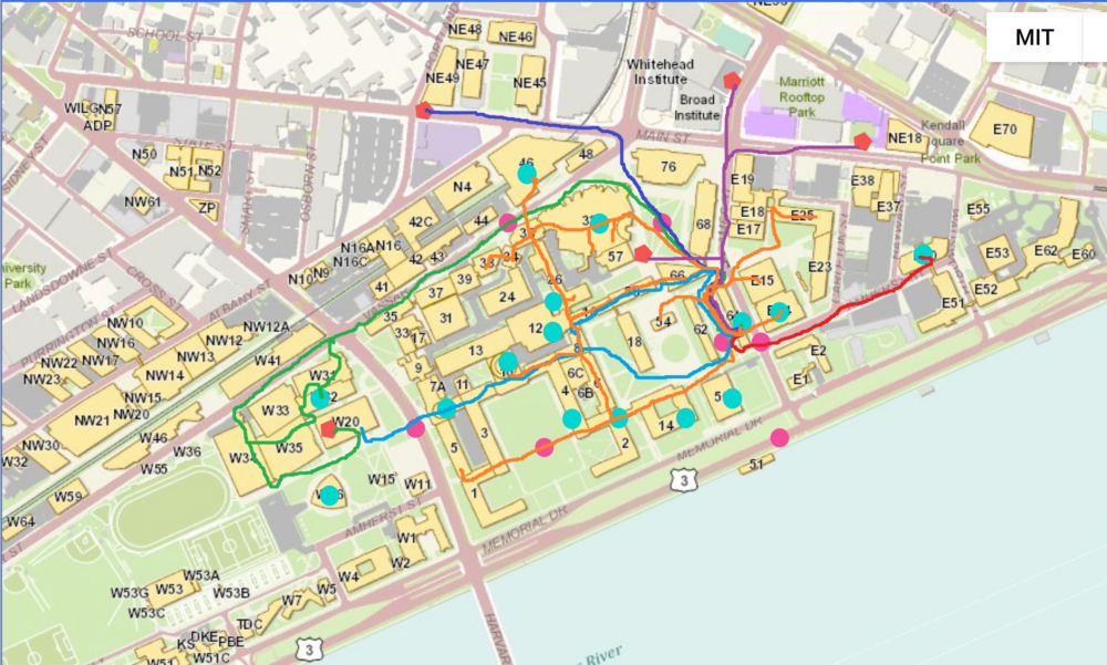 paths nisha walked at MIT